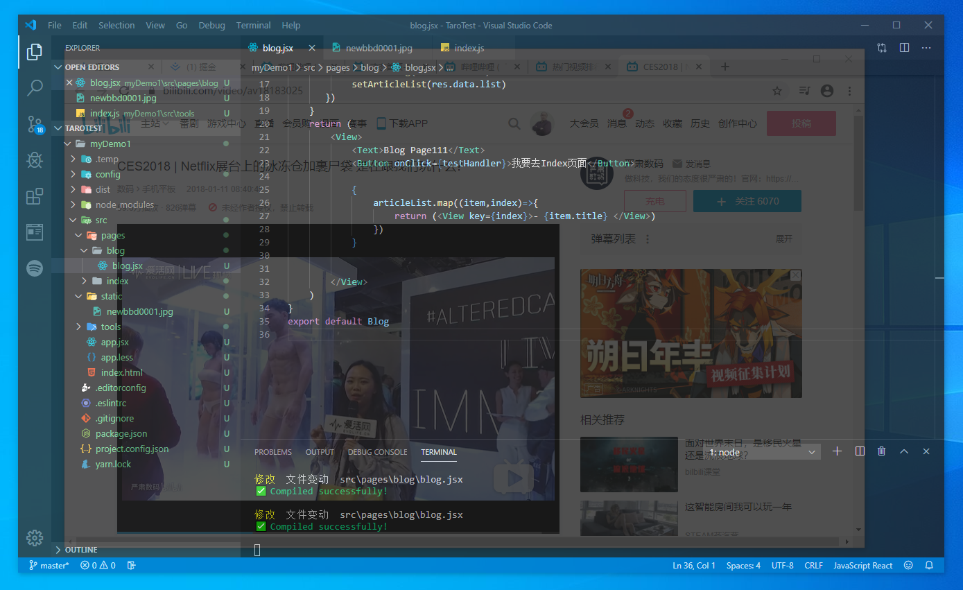 Windows opacity